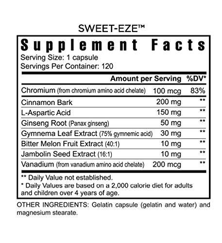 4 Bottles Slender FX Sweet Eze Blood Sugar Regulation Youngevity (Worldwide Shipping) by Youngevity (Image #1)