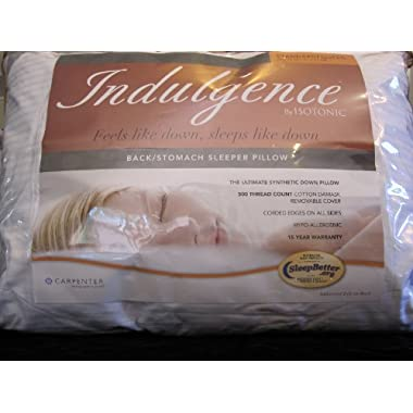 Indulgence Back/Stomach Sleeper Pillow Ultimate Synthetic Standard/Queen