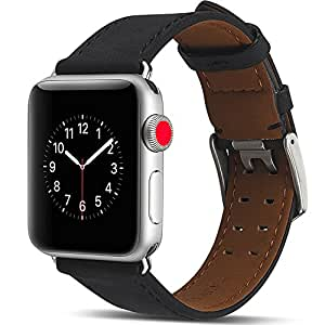Amazon.com: Camyse Compatible Apple Watch Band, Genuine