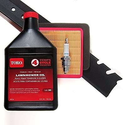 Toro reciclador con motor para cortacésped Toro (serie gama ...