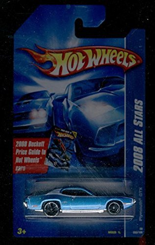 Price comparison product image Hot Wheels 2008-060/196 ALL Stars Plymouth GTX Beckett Price Card 1:64 Scale