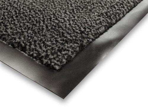 casa pura Carpet Entrance Mat, Gray (Mottled) 24