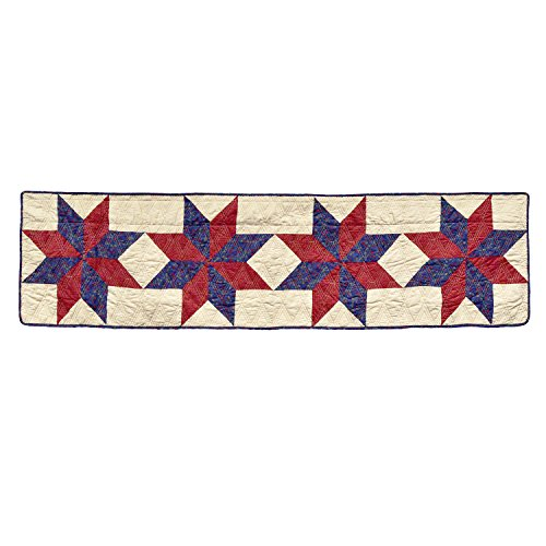 - Donna Sharp Gatlinburg Star Quilted Valance/Runner