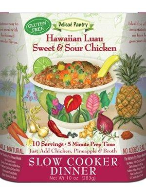 Hawaiian Luau Sweet & Sour Chicken Slow Cooker Dinner (Luau Dish)