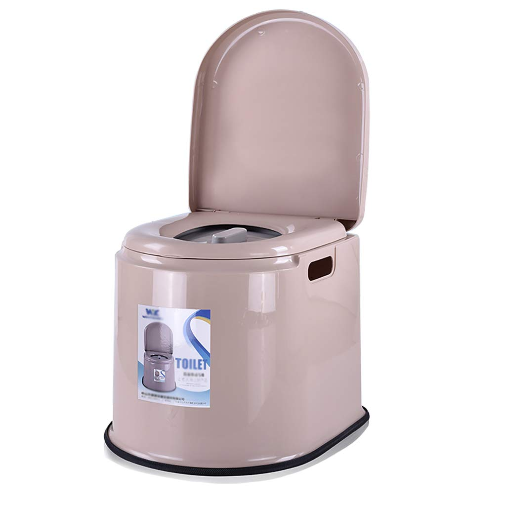 Portable Travel Toilet for Camping and Hiking, Household Non-Slip Plastic Squat Toilet for Elderly Pregnant Women by HSRG