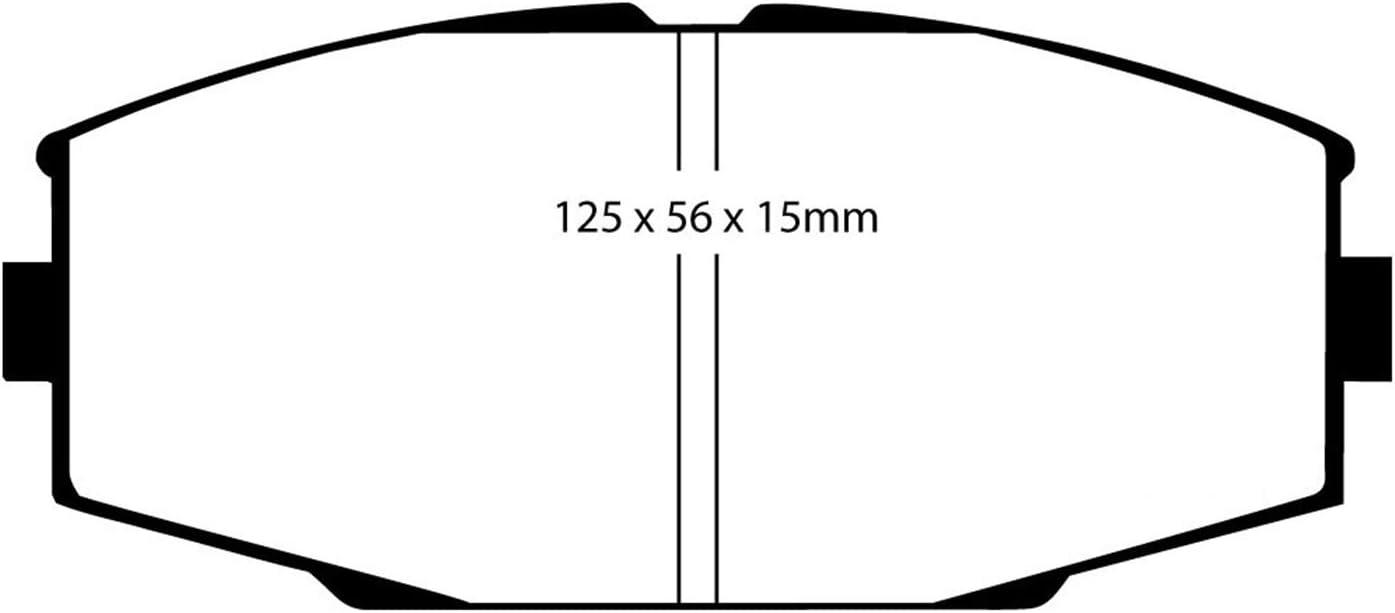 EBC Brakes DP3610C Redstuff Ceramic Brake Pads