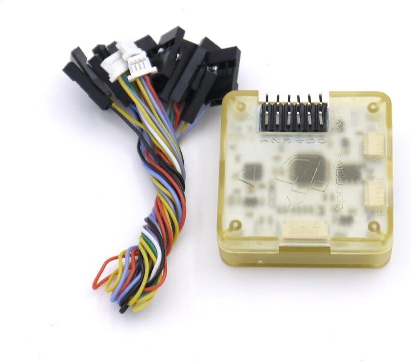 Ultra Small Mini OP GPS Openpilot CC3D EVO Flight Controller With yellow Case