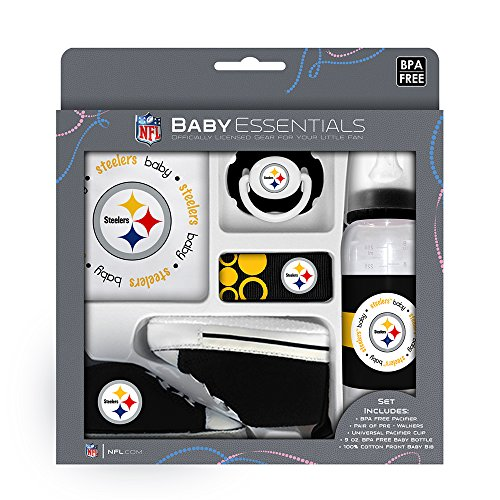 Baby Fanatic 5 Piece Gift Set, Pittsburgh Steelers at Steeler Mania