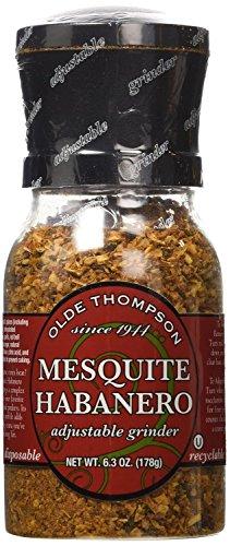 Olde Thompson Mesquite Habanero Seasoning 6.3oz Grinder (Pack of 2) by Olde Thompson