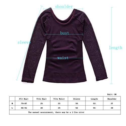 Comfortableinside - Camiseta moldeadora - para mujer gris