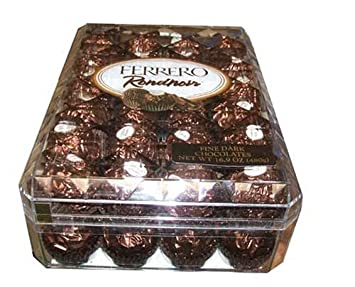 Amazoncom Ferrero Rondnoir 48 Individually Wrapped Fine Dark