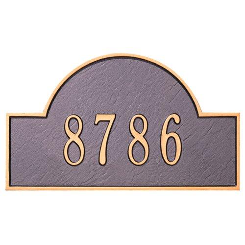 Whitehall 1 Line Arch Marker Estate Lawn Plaque-Personalization, Gift, Garden