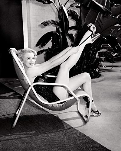 """Celebrity Vault Marilyn Monroe in Bathing Suit with Leg Up, an Archival Print - 20"""" x 16"""""""