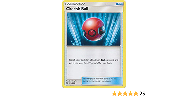 Cherish Ball 191//236 Unified Minds Pokemon TCG