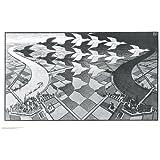 (22x34) M.C. Escher (Day and Night) Art Poster Print by artworkforless.com