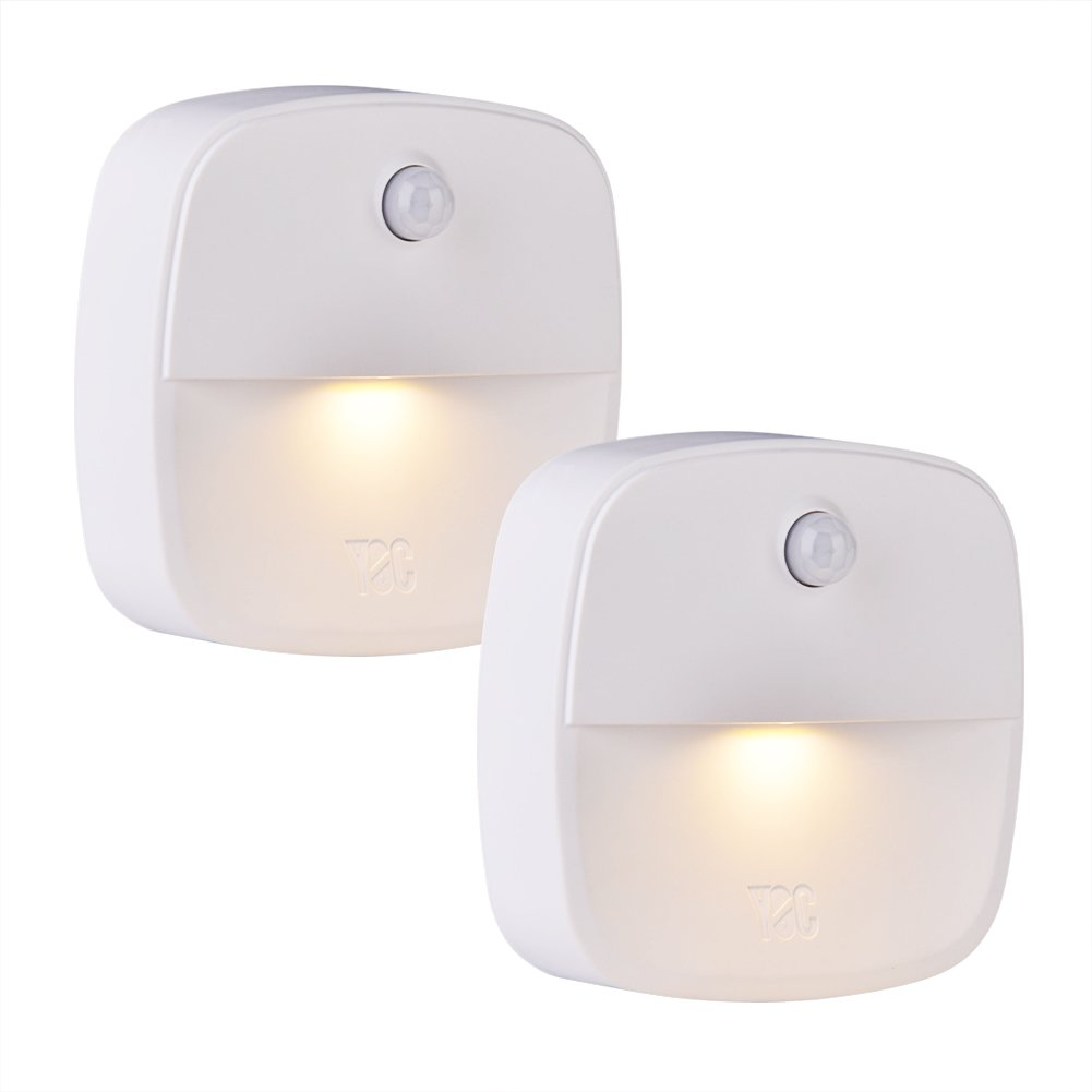 newest b9e97 5b13d Details about Vbestlife Stick-On Night Light, YOC Motion Sensor Night  Light, Warm White LED,