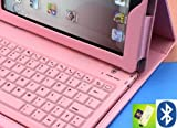 6~8 DAYS DELIVERY to USA! TOP® Bluetooth Keyboard folio Case Cover for iPad 2/3/4, Leather Case w/ Built-In Bluethooth Keyboard for Apple iPad, Case With Bluetooth Keyboard compatible with Apple iPad 2/3/4, Cover For Apple iPad 2/3/4