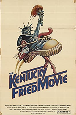 "The Kentucky Fried Movie 1977 Authentic 27"" x 41"" Original Movie Poster Marilyn Joi Comedy U.S. One Sheet"