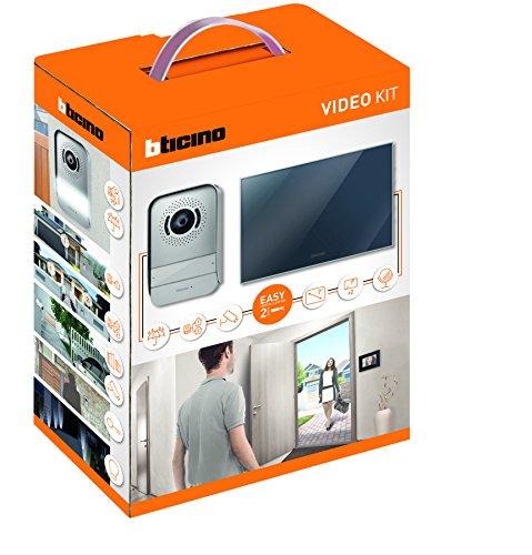 Bticino – 317013 Video intercom with Mirror Finish Kit of 2
