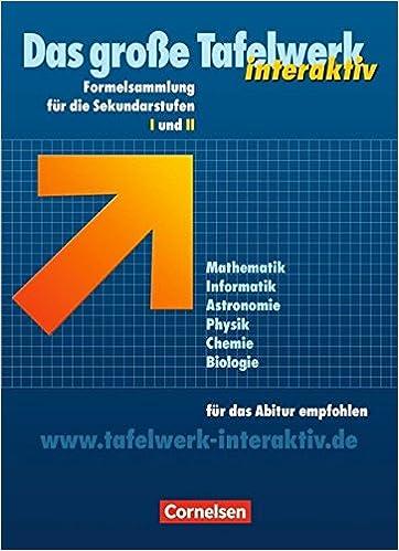 Tafelwerk Mathematik Pdf