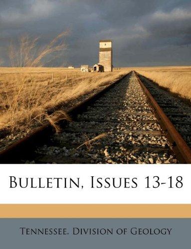 Bulletin, Issues 13-18 pdf