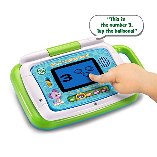 51CR3nMaW4L - LeapFrog 2-in-1 LeapTop Touch