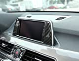 ABS Carbon fiber Style Interior Navigation box
