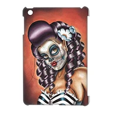 Custom No Rest For The Wicked Sugar Skull Case For Ipad Mini With