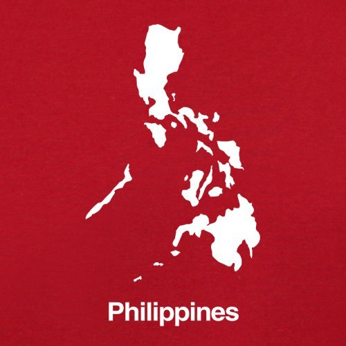 Red Bag Philippines Flight Silhouette Retro 4xqIa