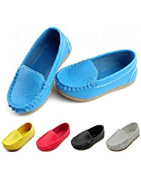 Soft Little Kids Toddlers Loafers Walking Shoes Oxford Slip-on for Boys Girls New Year Spring Festival Birthday Gift
