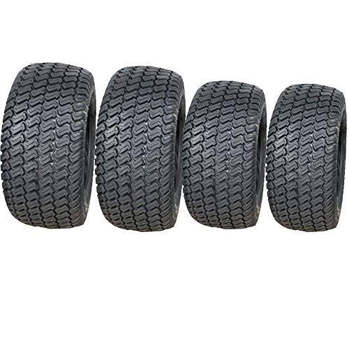 20x10.00-8 & 15x6.00-6 Cortacésped Neumáticos 4 Capas Multi Césped ...