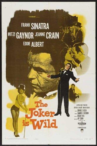 The Joker Is Wild Movie Poster (11 x 17 Inches - 28cm x 44cm) (1957) Style A -(Frank Sinatra)(Mitzi Gaynor)(Jeanne Crain)(Eddie Albert)(Beverly Garland)(Jackie Coogan)