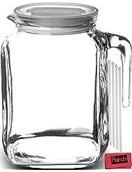 Bormioli Rocco Frigoverre /Paksh Glass Pitcher+White