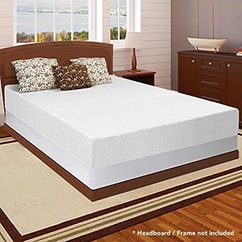 best price mattress 12 memory foam mattress 75 new innovative box spring set queen - Bed Frames With Mattress Included