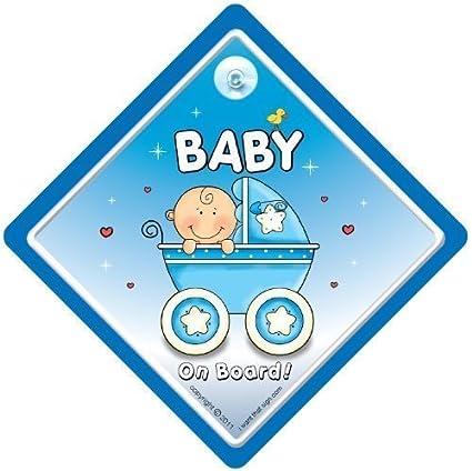 Principito a bordo personalizada bebé niño Coche Señal
