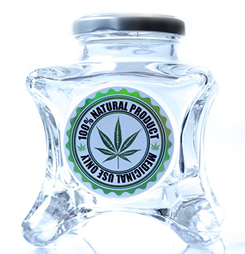 Dope-Jars-One-of-a-Kind-Herb-StorageFits-About-34-Ounce-Depending-on-Nug-Density-Leaf