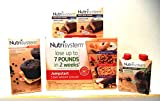 Nutrisystem, VARIETY PACK includes: 5 DAY WEIGHT LOSS KIT (15 entrees, 5 desserts), MILK CHOCOLATE SHAKES (4 pack), DOUBLE CHOCOLATE MUFFINS (4 count box), 2 boxes of CHOCOLATE PEANUT BUTTER BARS (5 count boxes)+ FREE 12 Pack of Quality Plastic Utensils