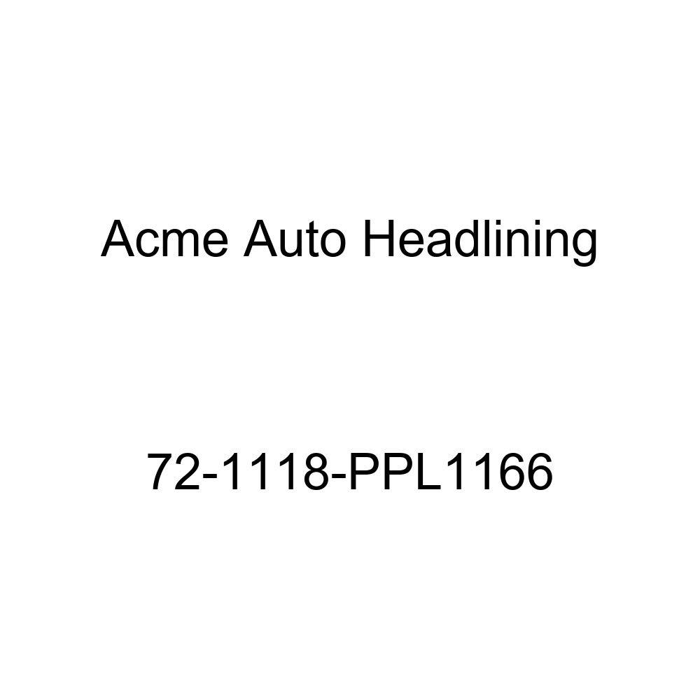 Acme Auto Headlining 72-1118-PPL1166 Sandalwood Replacement Headliner 8 Bow 1972 Buick Estate Wagon 4 Door Wagon