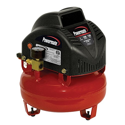 PowerMate Vx VNP0000101 1-Gallon Pancake Air Compressor with Extra Value...