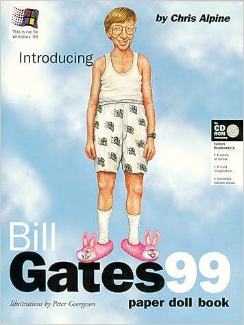 Book Bill Gates 99: A Paper Doll Book