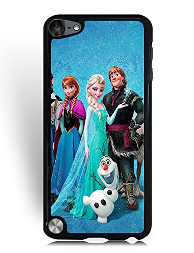 Lilly pulitzer Ipod Touch 5th Generation Cover, Luxury Frozen Graphic Ipod Touch 5th Generation Case Waterproof for Girl/Boy (Ipod 5th Generations Frozen Cases)