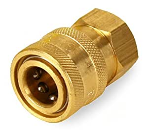 "Pressure Washer 1/4"" NPT-F Quick Coupler 5000 PSI (20)"