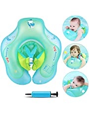Infreecs Flotador para bebé, Asiento de Flotador Inflable Juguetes de Piscina Anillo de natación para bebé Entre 6 Meses-3 Años