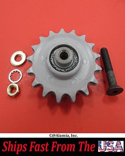 Bluebird Aerator Parts, #7634 Idler Sprocket Fits B530, H530 & Husqvarna . AR19