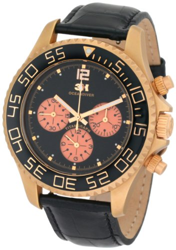 3H-Womens-CH2RS-Tintangraph-Titanium-Pink-Gold-PVD-Chronograph-Interchangeable-Band-Watch