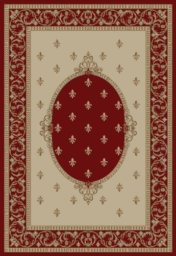 Concord Global Jewel F.LYS MEDALLION RED 5'3