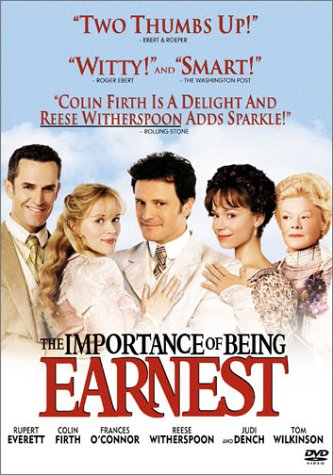 com the importance of being earnest rupert everett colin com the importance of being earnest rupert everett colin firth s o connor reese erspoon judi dench tom wilkinson anna massey