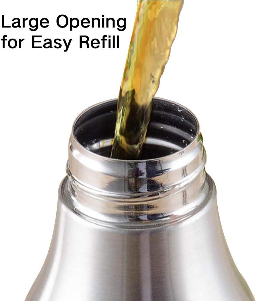 2 Stück Essigspender Ausgießer Flasche Olivenölbehälter Sicher Langlebig