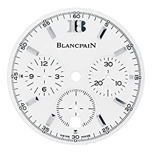 Best Epic Trends 51CR9SjutfL._SS300_ Blancpain Leman Chronograph Flyback 2185-1127-11 30 mm Dial for 38 mm Watch