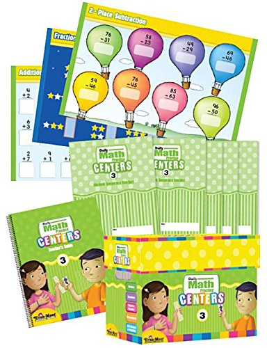 Daily Math Practice Centers, Grade 3 Classroom Resource Kit ()
